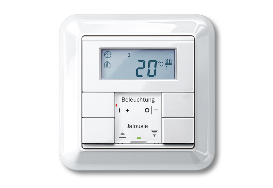 ATELIER-M Temperature control with multi-function push-buttons