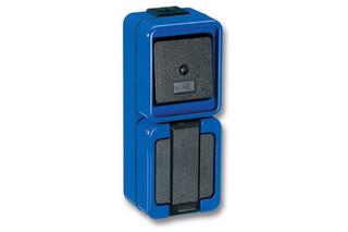 BREAKPROOF Switch and socket combi  by  Merten