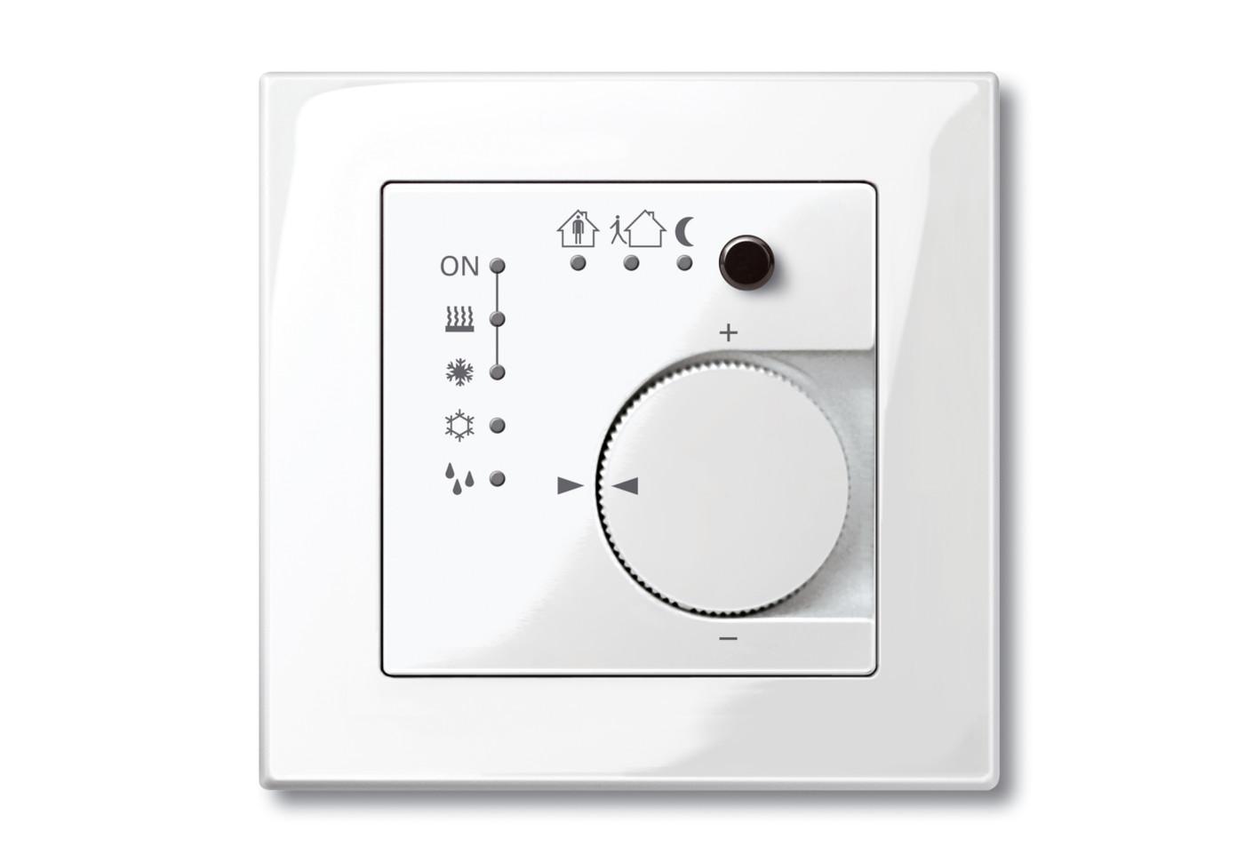KNX room temperature control by Merten STYLEPARK #2B2624