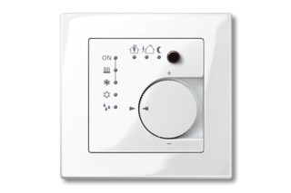KNX room temperature control  by  Merten