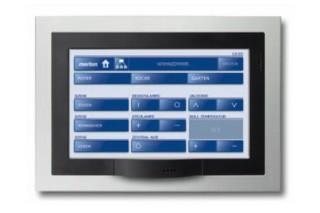 """KNX Touch Panel 7""""  by  Merten"""