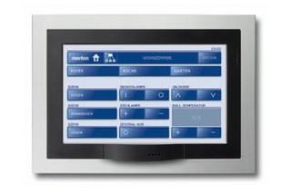 """KNX Touch Panel 7""""  von  Merten"""
