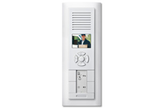 M-ARC TWINBUS VIDEO FLUSH-MOUNTED INTERCOM  by  Merten
