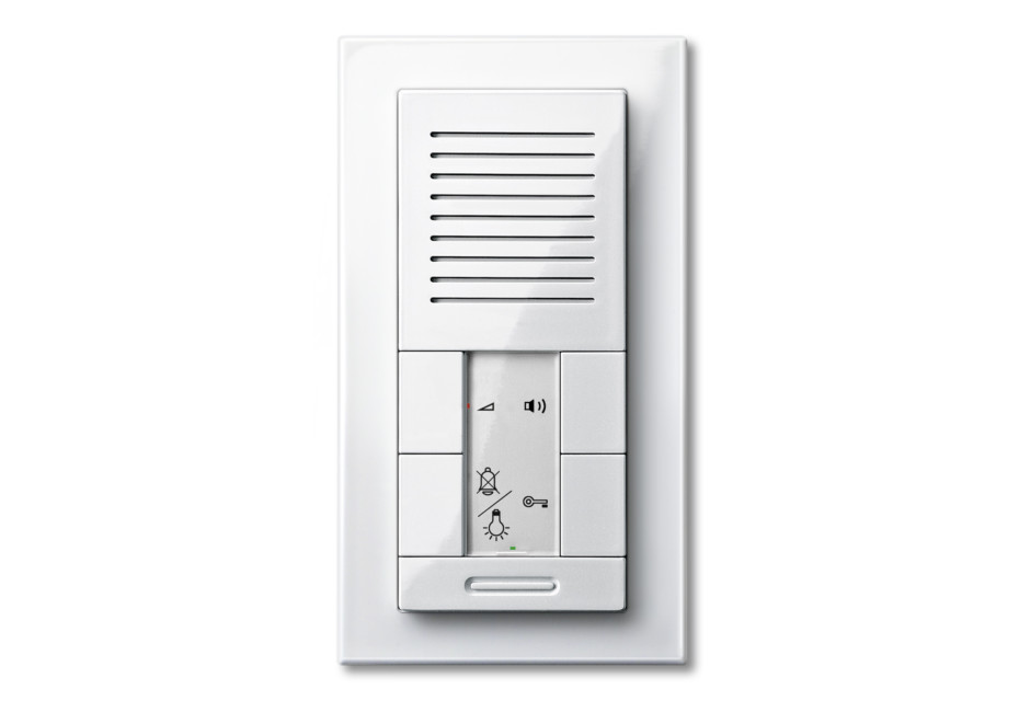 M-PLAN TWINBUS FLUSH-MOUNTED INTERCOM