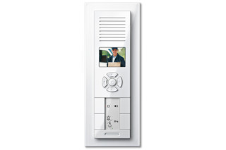 M-PLAN TWINBUS VIDEO FLUSH-MOUNTED INTERCOM  by  Merten