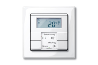 M-SMART Temperature control with multifunction push-buttons  by  Merten
