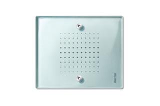 TRANCENT Glass push-buttons  by  Merten