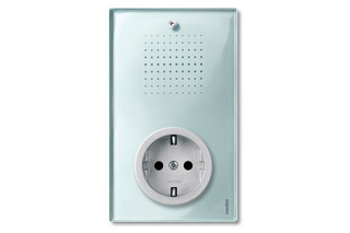 TRANCENT Lighting control with socket outlets  by  Merten