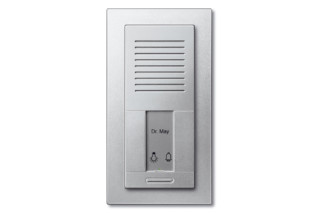 Twinbus staircase door intercom flush mounted  by  Merten