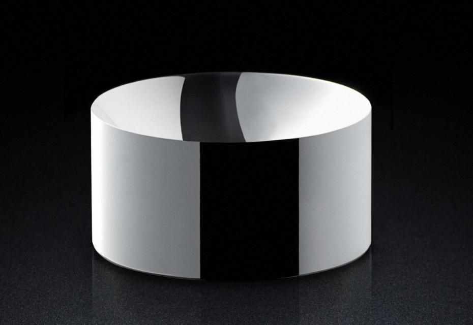 Dish silver