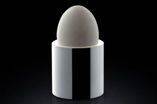 Egg Cup silver  by  MINIMALUX