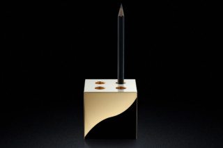 Pen Pot gold  by  MINIMALUX