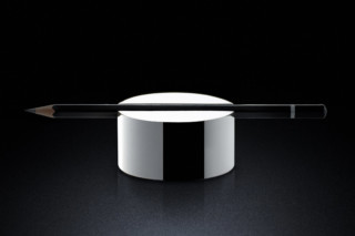 Pen Rest rd silver  by  MINIMALUX