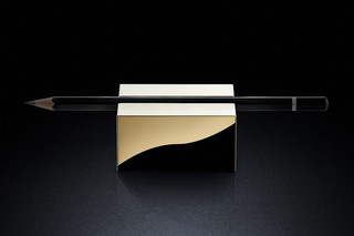 Pen Rest sq gold  by  MINIMALUX