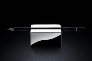 Pen Rest sq silver  by  MINIMALUX