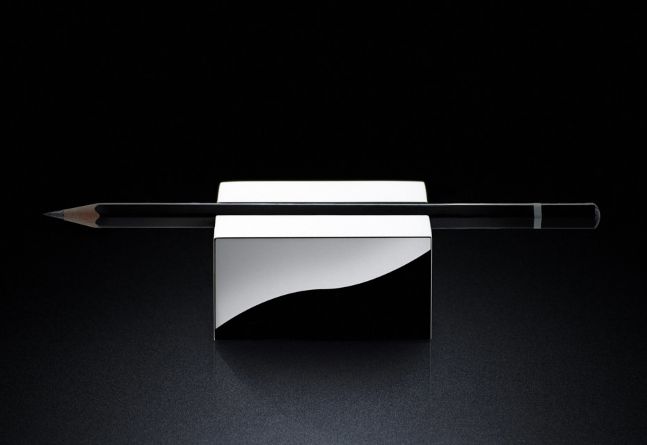 Pen Rest sq silver