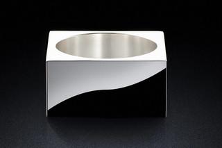 Pot 30sq silver  von  MINIMALUX