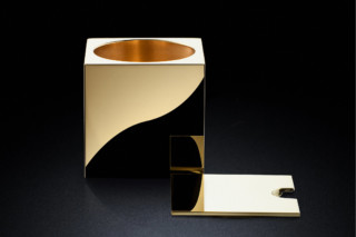 Serving Pot sq gold  von  MINIMALUX