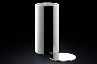 Vase/Container silver  by  MINIMALUX
