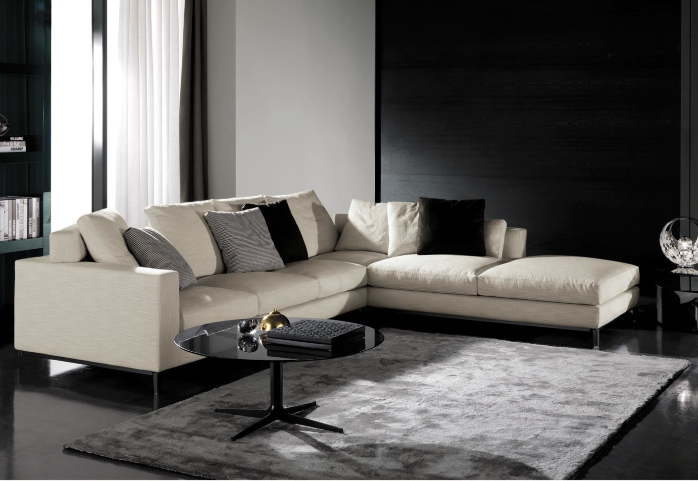 andersen sofa by minotti stylepark. Black Bedroom Furniture Sets. Home Design Ideas