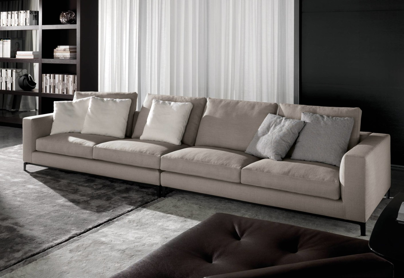 andersen sofa von minotti stylepark. Black Bedroom Furniture Sets. Home Design Ideas