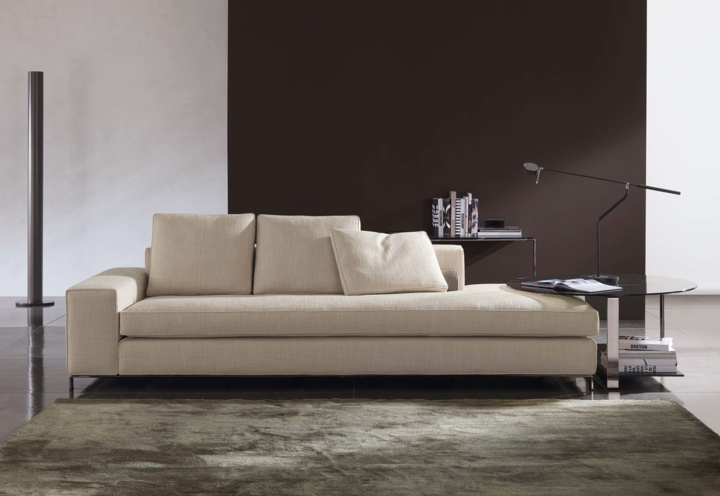 Williams von minotti stylepark for Sofa contemporain design