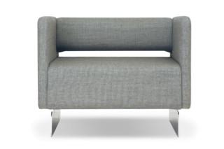 Lolo Sessel gepolsterte Armlehnen  von  Modus