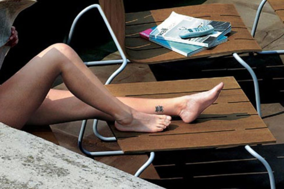 Long island outdoor stool