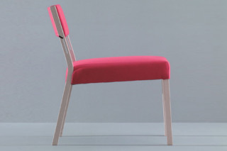 Sweetwood armchair  by  Montina
