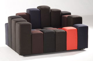 Do-Lo-Rez 2-seater  by  Moroso