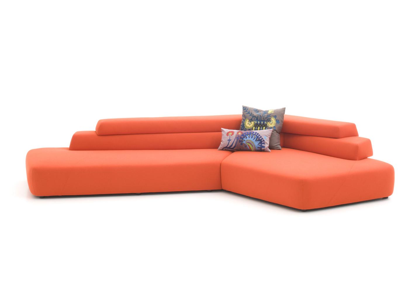 rift sofa by moroso stylepark. Black Bedroom Furniture Sets. Home Design Ideas