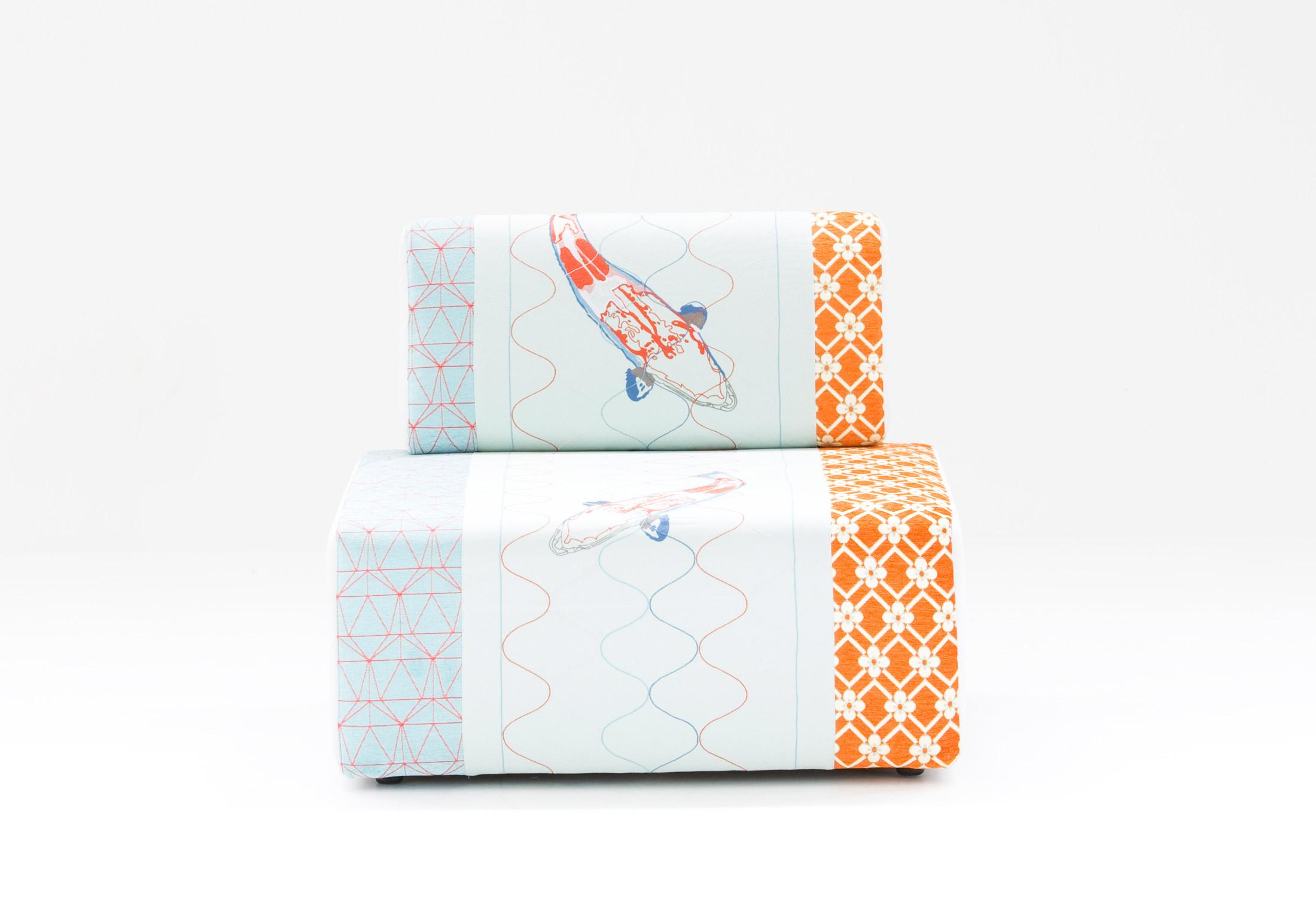 sushi collection - block seat by moroso   stylepark - Designer Mobel Kollektion