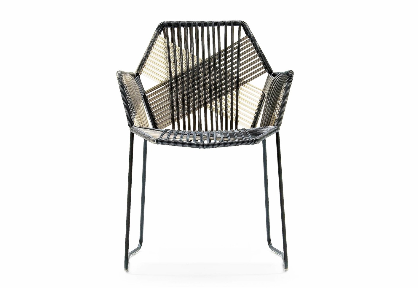 tropicalia chair with armrests by moroso