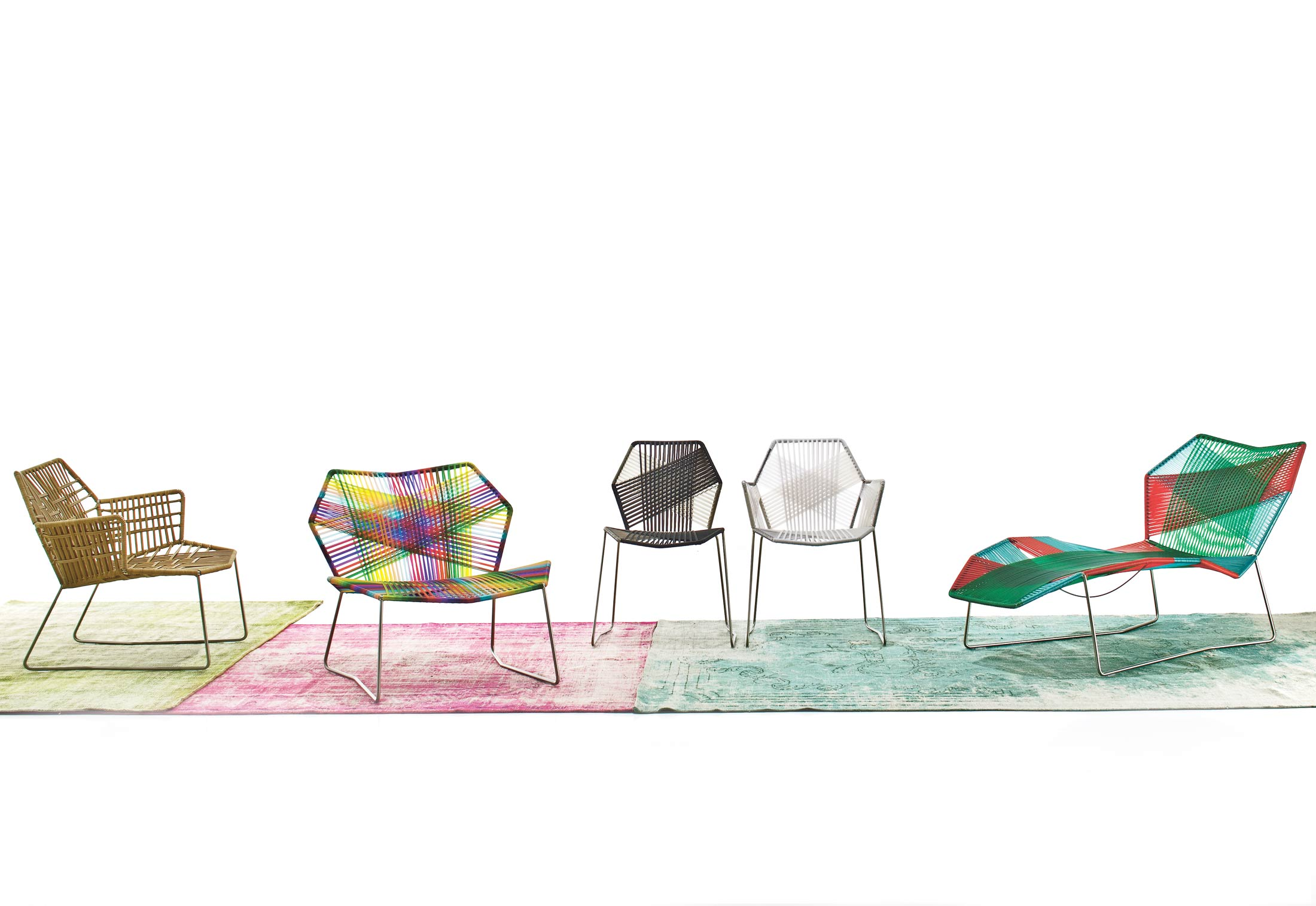 Tropicalia Chaise Lounge by Moroso   STYLEPARK