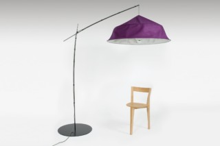 Fold up floor lamp  by  Moustache