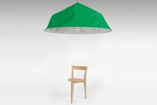 Fold up XXL suspension lamp  by  Moustache
