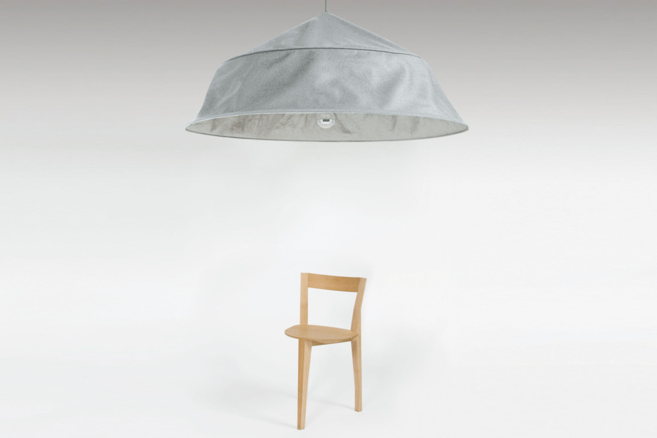Fold up XXL suspension lamp