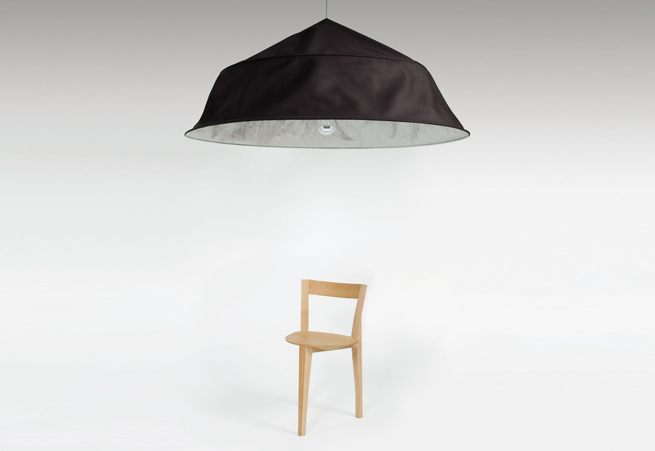 fold up xxl suspension lamp by moustache stylepark. Black Bedroom Furniture Sets. Home Design Ideas