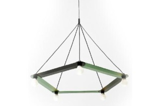 Link chandelier  by  Moustache
