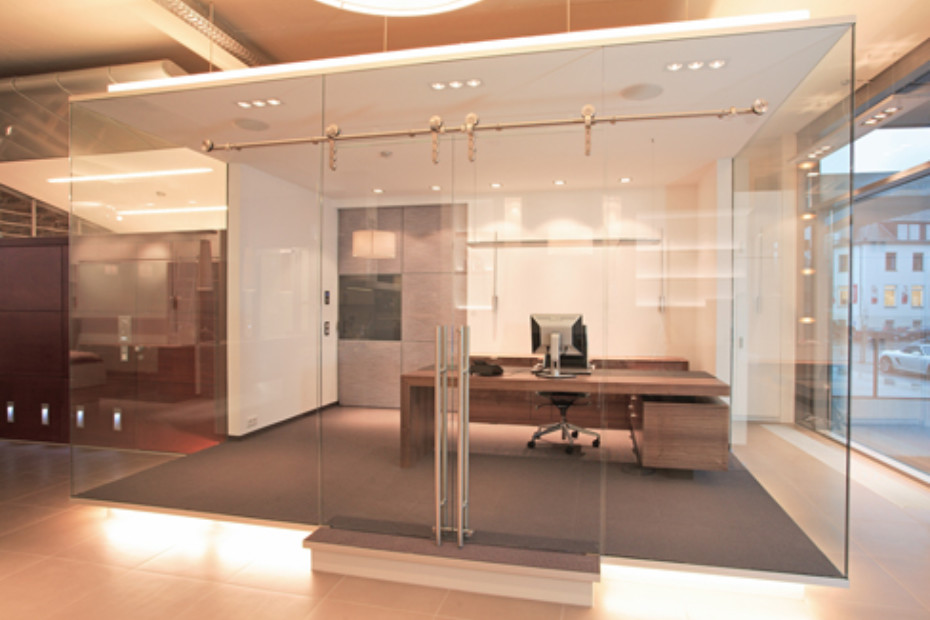 Glass Cabins and Partition Systems