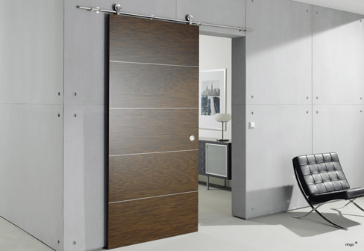 Supra sliding door system by mwe stylepark for Sliding door manufacturers
