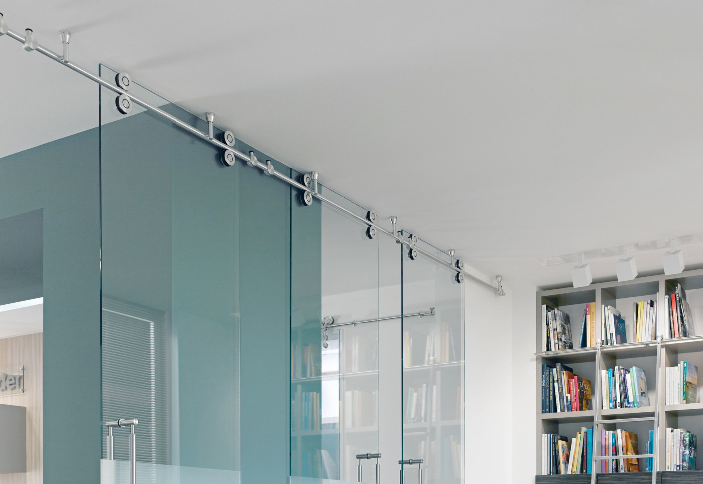 Twin Sliding Door System by MWE | STYLEPARK