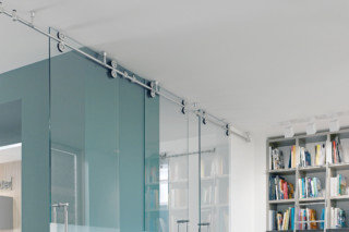 Twin Sliding Door System  by  MWE