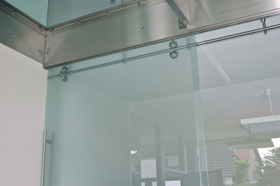 Twin Sliding Door System
