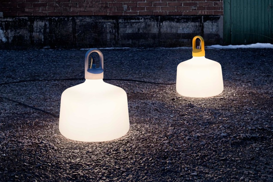 Bottle outdoor lamp