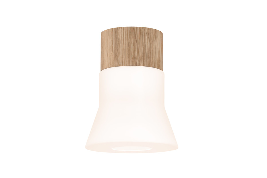 Wood ceiling lamp small