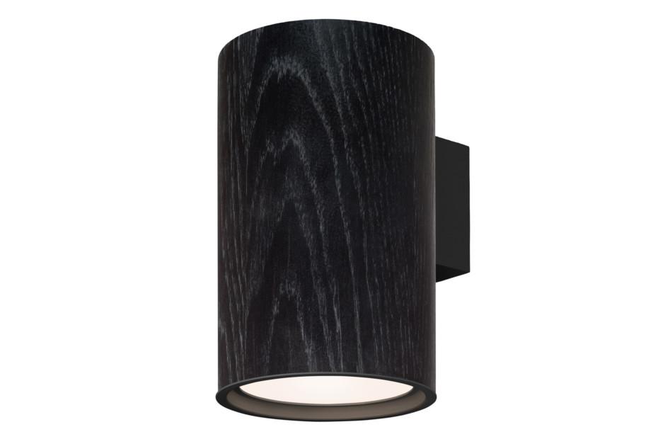 Wood wall lamp