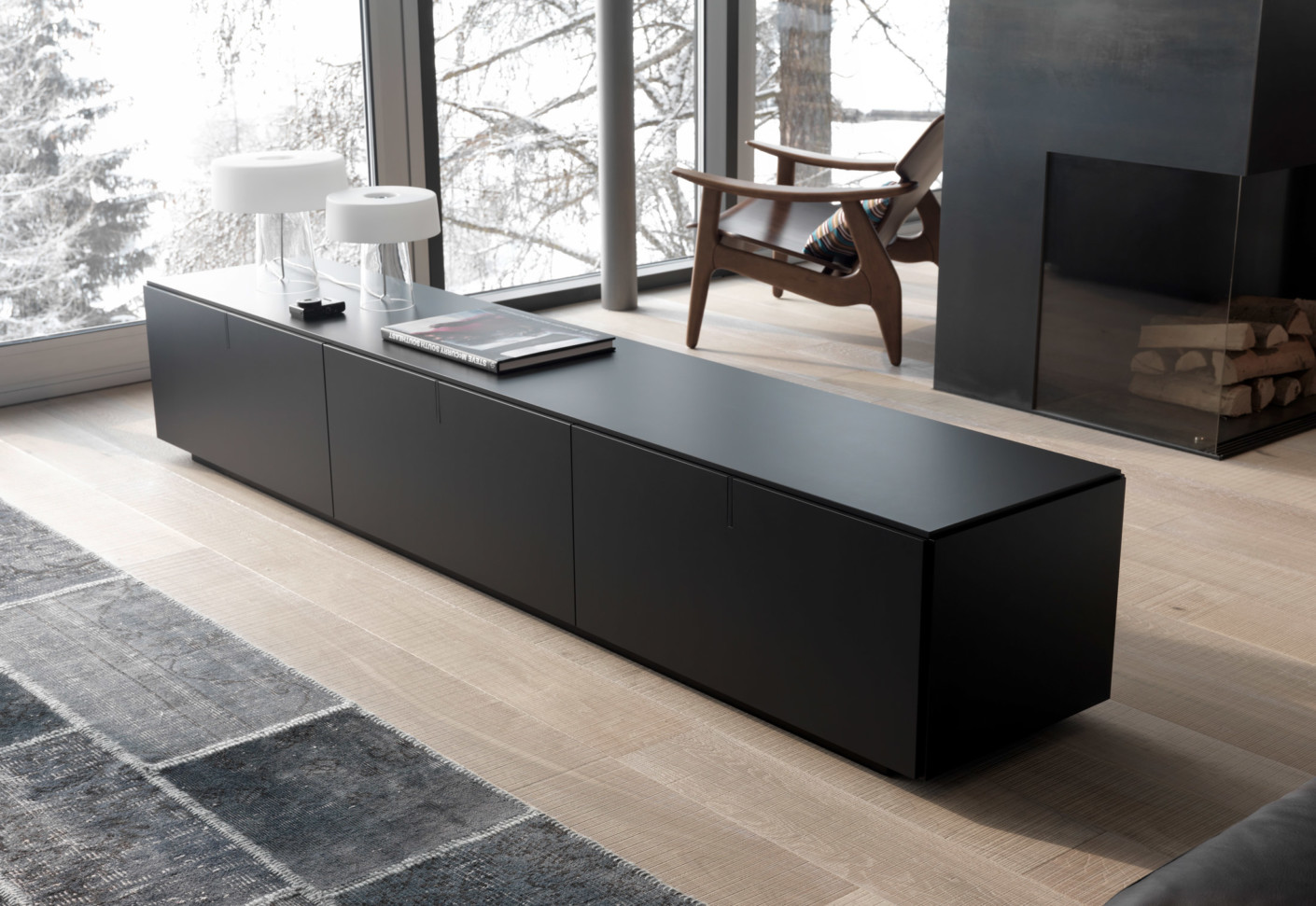 next tv board von zoom by mobimex stylepark. Black Bedroom Furniture Sets. Home Design Ideas