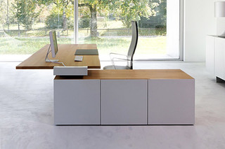 TIX Office corner combination  by  Zoom by Mobimex