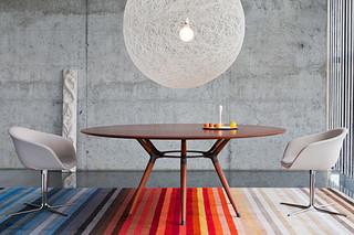X2 Tisch rund  von  Zoom by Mobimex